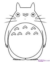 Small Picture Totoro Coloring Pages Sewing Crafts Pinterest Totoro