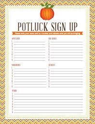 food sign up sheet food sign up sheet template potluck dinner sign up sheet template