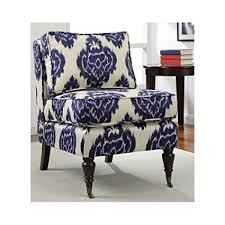 ikat accent chair. Delighful Accent Ikat Accent Armless Chair Blue And Cream For O