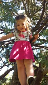Image result for little kid in a tree