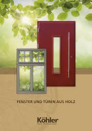 Köhler Fenster Und Türenbau Gmbh By Marion Marx Issuu