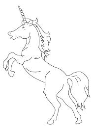 Print Coloring Image Unicorn Stuff Unicornio Pegaso Blanco