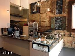 Before After Brick Mortar Cupcake Shop Redo Designsponge