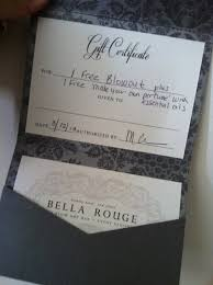 gift card bella rouge dry bar event styling is located at 374 north maple avenue basking ridge nj