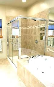 stand up shower bathtub surround doors pertaining to fabulous converting convert tub