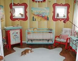 Considering Area Rug for Baby Girl Room : Astounding Girl Baby Nursery Room  Decoration Using Yellow