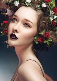 model nicole keimig makeup hair by mikala photo post julia