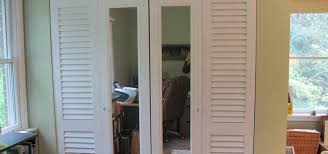image of mirrored bifold closet doors big