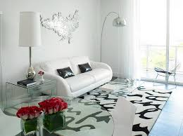 Black And White Living Rooms Design Ideas Mesmerizing White On White Living Room Decorating Ideas