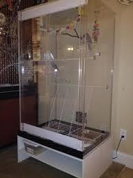 acrylicage clear acrylic bird cage jpg 570x760 plexiglass bird cages