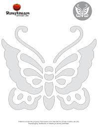 Butterfly Pumpkin Carving Pattern