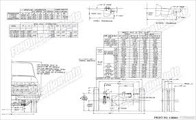 ford truck body builders layout books fordification info the F350 Frame Diagram 6bb004 f350 chassis page 12 Ford F-350 Frame Width