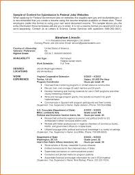 Usajobs Resume Adorable Usa Jobs Resume Tommybanks