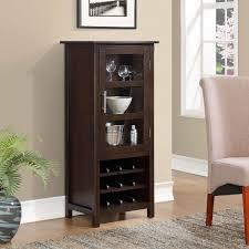 Wine Bar Storage Cabinet Simpli Home Avalon Bar With Wine Storage Reviews Wayfair