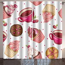 Interior Design Kids Bedroom Impressive Buy Leigh R Avans Pattern With Cherry Cupcakes Coffee And Cookies