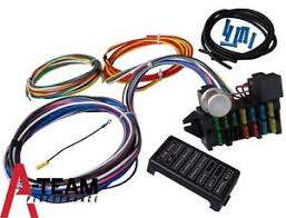 universal wiring harness ebay wiring harnesses for cars 12 circuit universal wiring harness muscle car hot rod street rod xl wires new