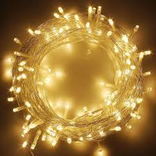 1000 Led Outdoor Christmas Lights 33ft 100 Leds Warm White String Lights 8 Modes Waterproof Indoor Outdoor Christmas Tree Wedding Decor Extendable To 1000 Led Buy Led String Light