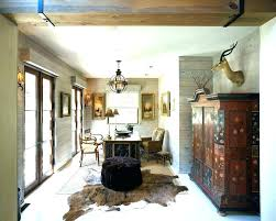 faux animal hide rugs skin ideas for traditional home office with wood walls furniture liquidators usa