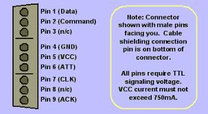 project e 22 playstation controller interpreter pinout of a playstation controller click for print version