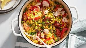 Easy Lobster Paella Recipe