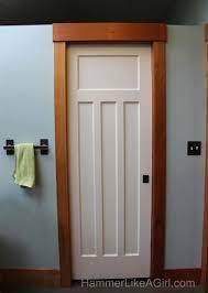 Pocket Door Retrofit Using Salvaged Doors In A Remodel Part 1 Hammer Like A