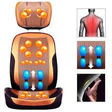 massage pad for chair. massaging chair cushion massage pad cervical device neck open back for