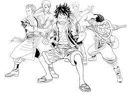 Bộ Sưu Tập Tranh Tô Màu One Piece Đẹp Dành Tặng Bé