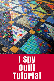I Spy Quilt Tutorial • The Crafty Mummy & Learn to make an I Spy Quilt - great for kids as it has a mixture Adamdwight.com