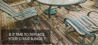 old chair slings