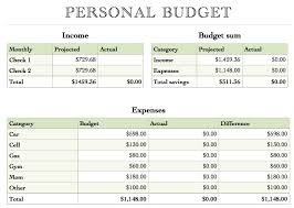 Simple Home Budget Spreadsheet | Onlyagame
