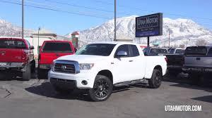 2008 Toyota Tundra White Custom Wheels & Tires - Utah Motor ...