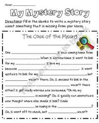 Pinterest     The world     s catalog of ideas Freebie  Use this  quot Fill in the Blanks quot  writing template to guide your student in writing a mystery story about an object that is missing