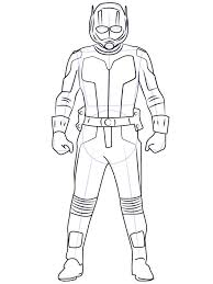 Small Picture Ant Man coloring pages Free Printable Ant Man coloring pages