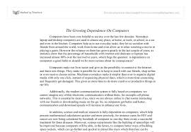 the growing dependence on computers why do we rely so much on document image preview