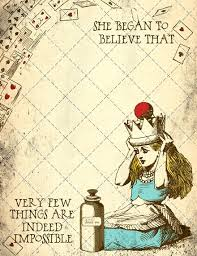 Diy Party Printables The Best Diy Alice In Wonderland Tea Party Ideas On A