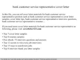 Fancy Cover Letter For Bank Customer Service Representative    On     customer service representative cover letter sample