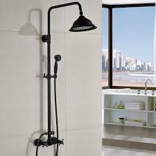 oil rubbed bronze shower faucet with handshower. oil rubbed bronze shower faucet set 8\ with handshower z