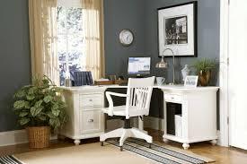 white corner desk home office