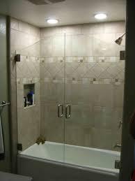 frameless sliding shower doors tub. Bath Sliding Glass Shower Doors Tub New Dreamline Encore Bathroom Home Depot For Inspiring Frameless R