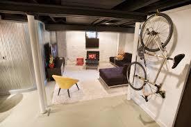 corrugated metal ceiling basement basement modern with basement renovation basement renovation basement renovation