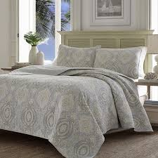 gray bedspread king.  Gray Amazoncom Tommy Bahama 220123 Turtle Cove Reversible Quilt SetPelican  GrayKing Home U0026 Kitchen With Gray Bedspread King