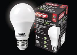 garage door opener bulbThe Genie Company Releases LED Bulbs that Dont Interfere with