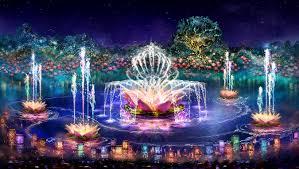 Disney World Water Light Show