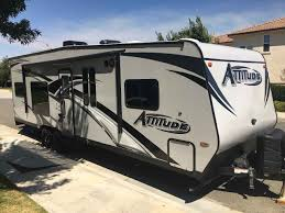 2018 used eclipse recreational vehicles atude 27sag toy hauler in california ca