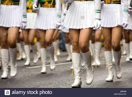 Legs And Knees Of Taipei Girls Senior High School Honour Guard
