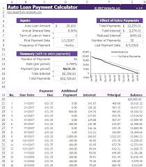 Schedules Amortization Schedule Calculator Excel Formula – Livingaudio