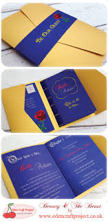 best 25 disney wedding invitations ideas on pinterest disney Purple Disney Wedding Invitations the disney inspired beauty and the beast pocketfold wedding invitation with the unique inner booklet design Elegant Wedding Invitations