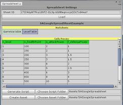 Constdata Generator From Google Spreadsheet Asset Store