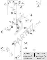 Instruments lock system ktm 450 exc six days 2013 eu