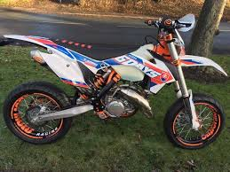 ktm 125 exc six days super moto 2016 in newcastle tyne and